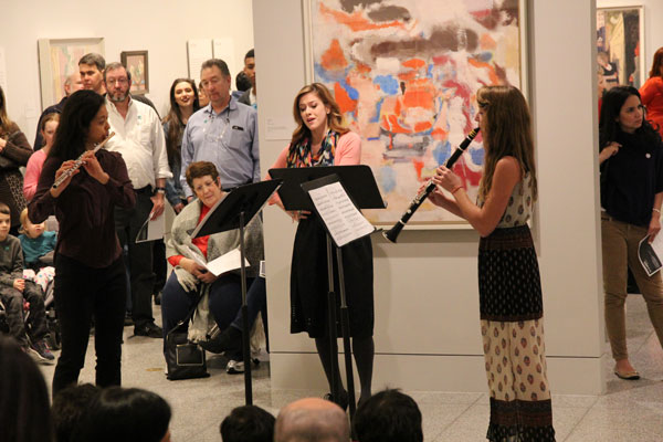 15/16 Young Artists Izumi Miyahara, Teresa Procter and Rebecca Tobin perform at the Museum of Fine Arts, Houston.