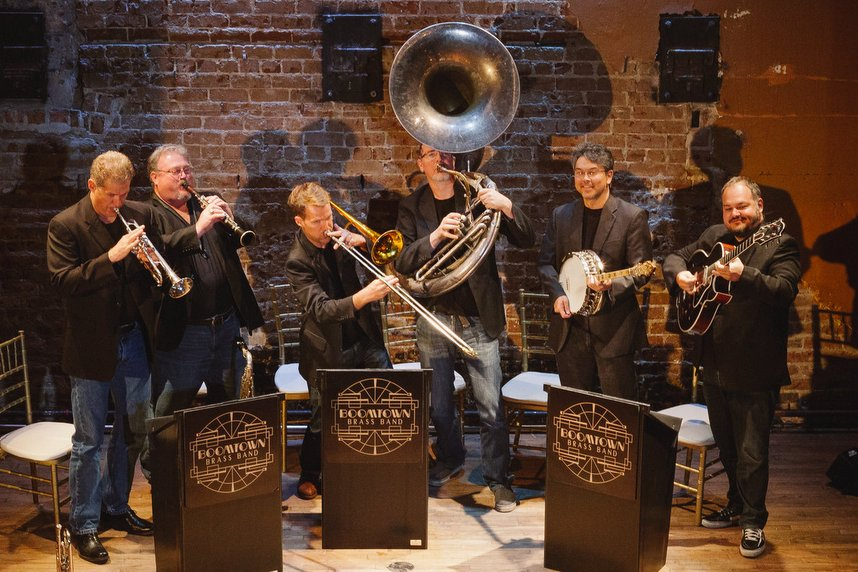 Boomtown Brass Band 858